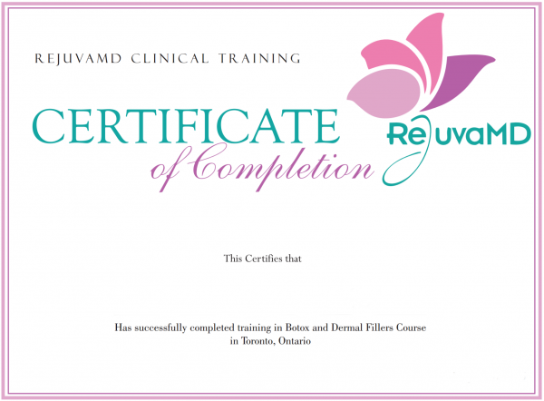 Botox and Dermal Fillers Certification Course